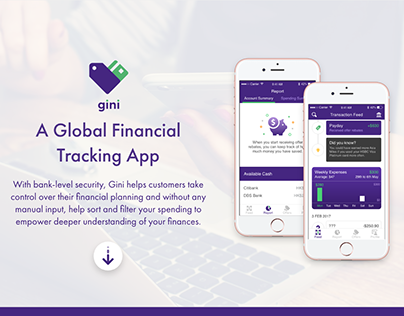 gini - A global financial tracking app