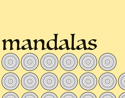 Mandalas: Cool, Warm, and Neutral Toned