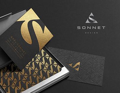 Axel Sonnet Logo design