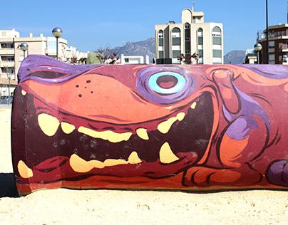Dog Park Painting