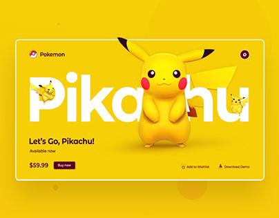 Pikachu UI Design Concept