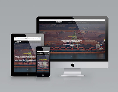 Curzon Resources Website