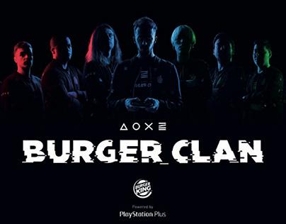Burger King / Burger Clan / Activación digital