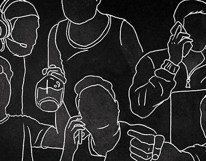 Illustration Design   Prime Video IN   Hostel Daze S2