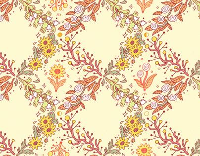Seasonal Floral Pattern