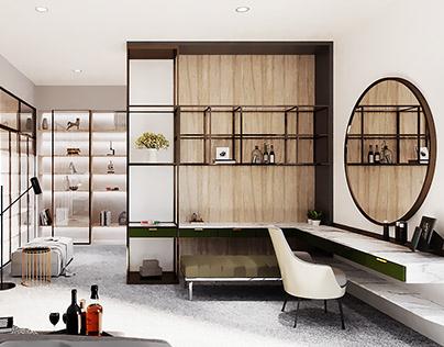 3D   Modern Luxury Apartment