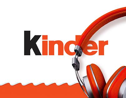 Kinder - Streaming music website