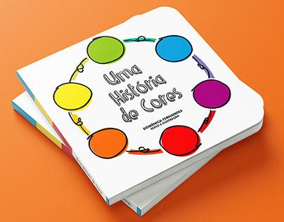 Uma História de Cores - Livro Infantil