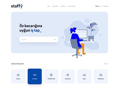 Staffy - Job Search Platform