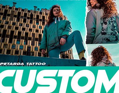 Custom Jacket by Petarda Tattoo photography