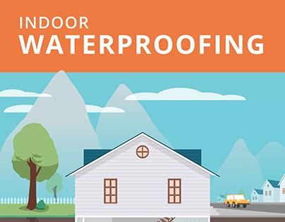 "Infográfico animado: ""Indoor Waterproofing"""