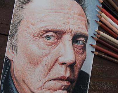 Christopher Walken - Color Pencils -