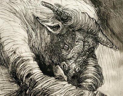 Melancholic Minotaur