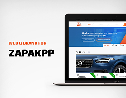 Web & Brand for Zap