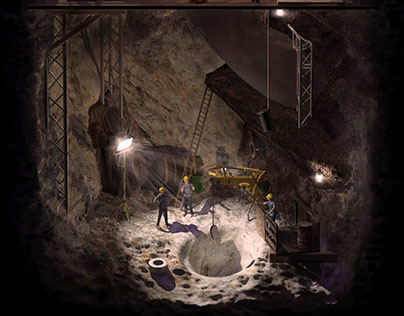 Dissected Void: Excavation