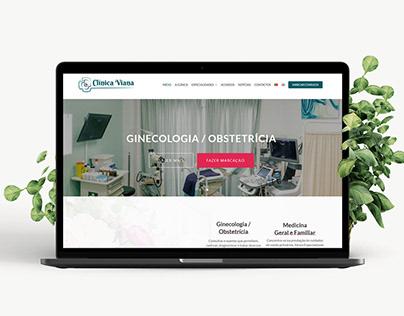 Desenvolvimento Web Clínica Viana