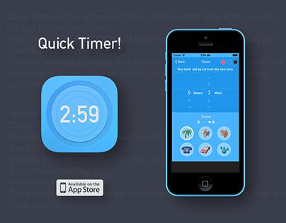 Quick Timer App