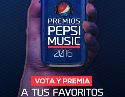 Premios Pepsi Music 2016
