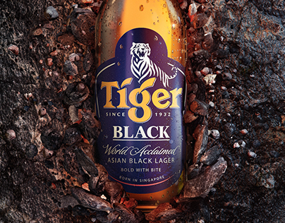 Tiger - Black & White