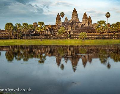 An Iconic Photo Of Angkor Wat