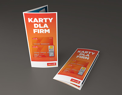 "Ulotka ""Karty dla firm"" - Circle K"