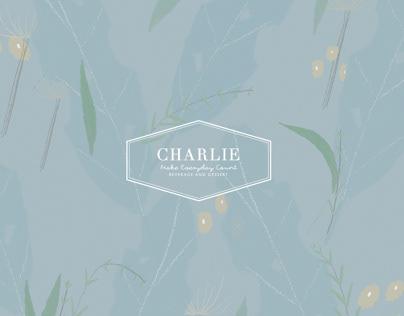 VI design for Charlie Cafe