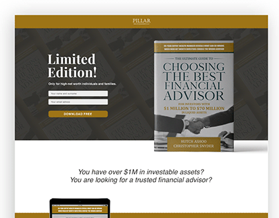 Ebook promotion_Landing page design