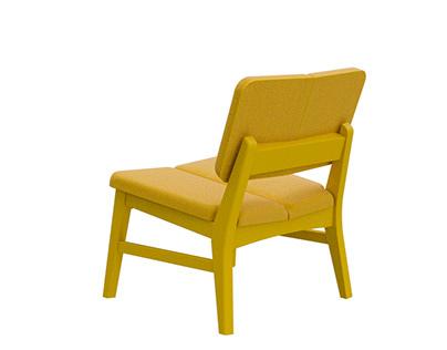 Duo lounge chair