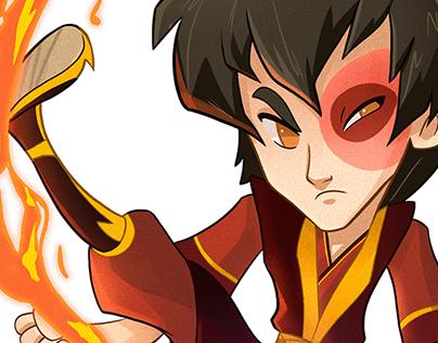 Avatar: the last aribender fan-art