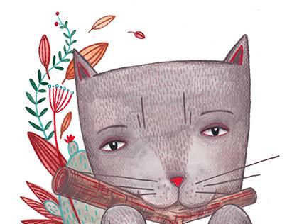 Book illustration Ali & Tak