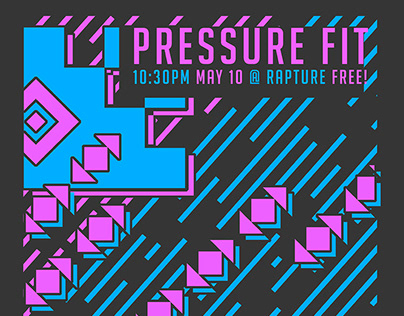 Pressure Fit posters