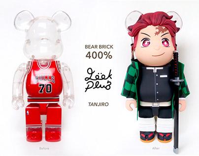 Customize Bear Brick 400% to Tanjiro