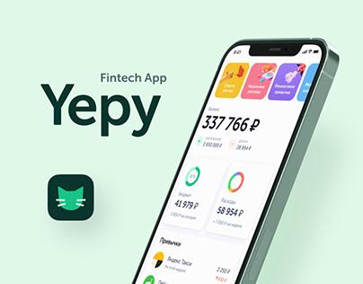 Yepy – Personal Finance App