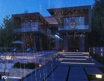 Exterior Render , Architectural Visualization