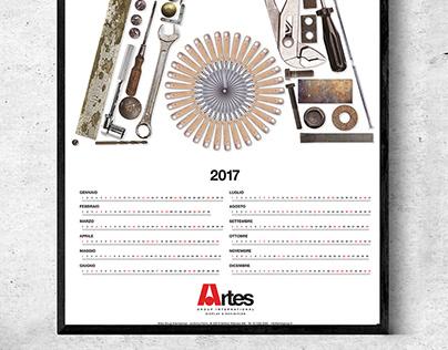 Artes Group Intenational - Calendario 2017