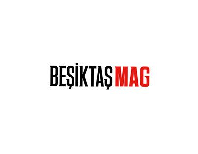 BeşiktaşMag - Logo Design