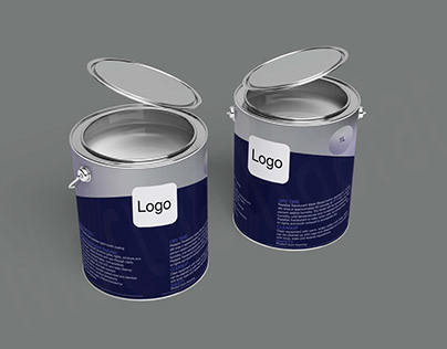 Steel Paint Can Packaging