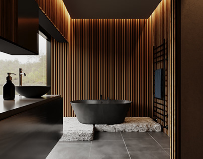 """ Black-Edgy Bath """