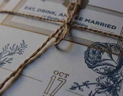 Hamprosz Wedding Invitation