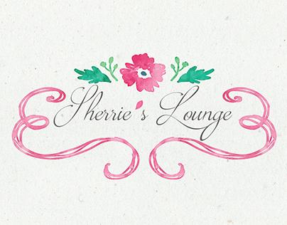 Sherrie's Lounge branding