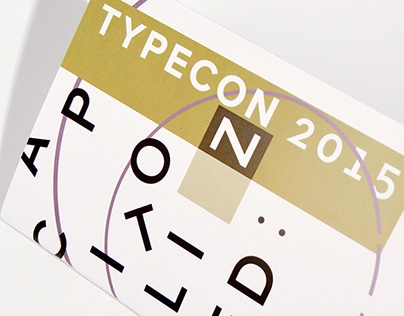 TypeCon Brochure Redesign