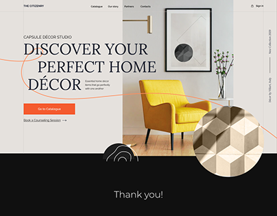 Smooth animation for furniture website
