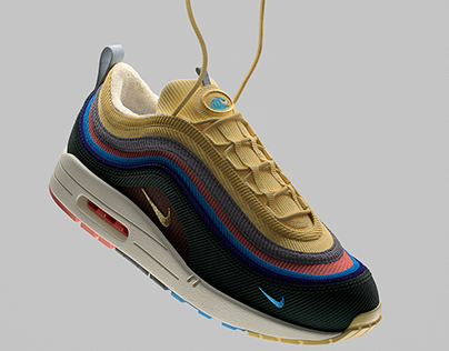 Nike Air Max 1/97 Sean Wotherspoon 3D