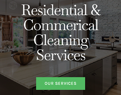 House & Commercial Cleaning Website