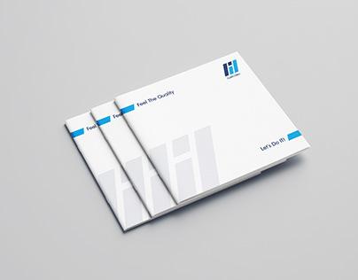 print presentation of the company Rukh development