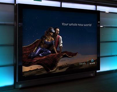 Vive VR Ad Campaign