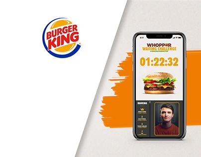 Burger King: Waiting Challenge