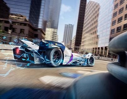 BMW Formula E Campaign