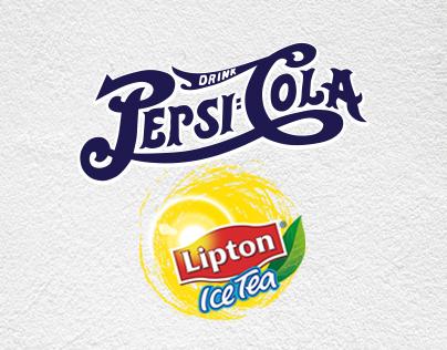 Pepsi + Lipton Ice Tea - Branding in Alaçatı