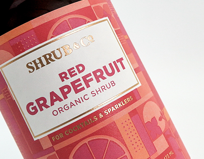 Shrub & Co. Label Design